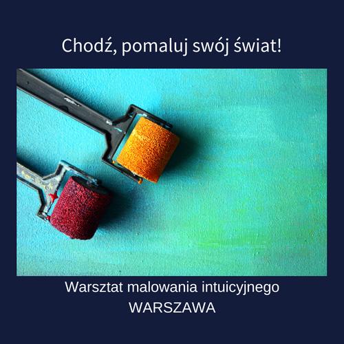 malowanie intuicyjne warszawa