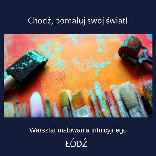 malowanie intuicyjne łódź