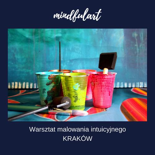 malowanie intuicyjne w Krakowie